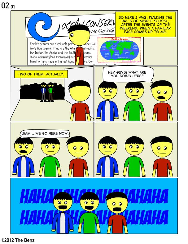 02.01: Their School Is A Joke